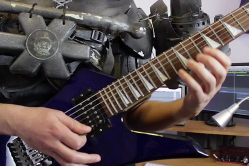 Shred Collab Video Solo Tabs