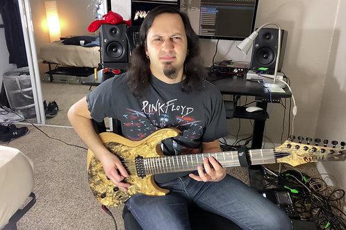 E Phrygian Dominant String Skipping Etude Guitar Tabs