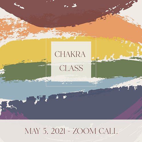 Chakra Class Recording