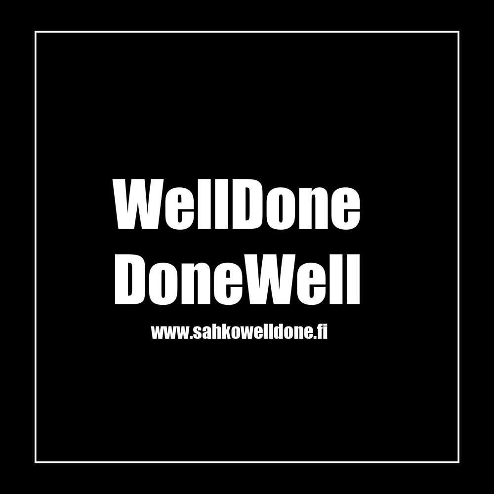 Sähköasennukset WellDone Oy logo
