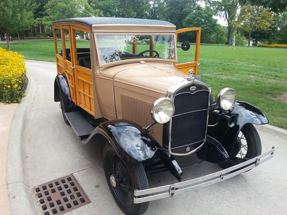 "1931 ""Woodie"" Station Wagon"