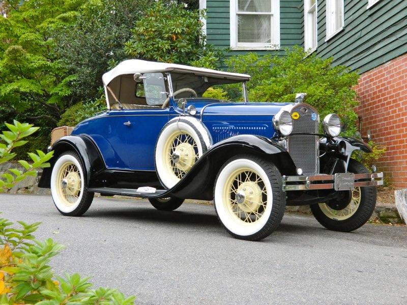 1931 RHD Deluxe Roadster