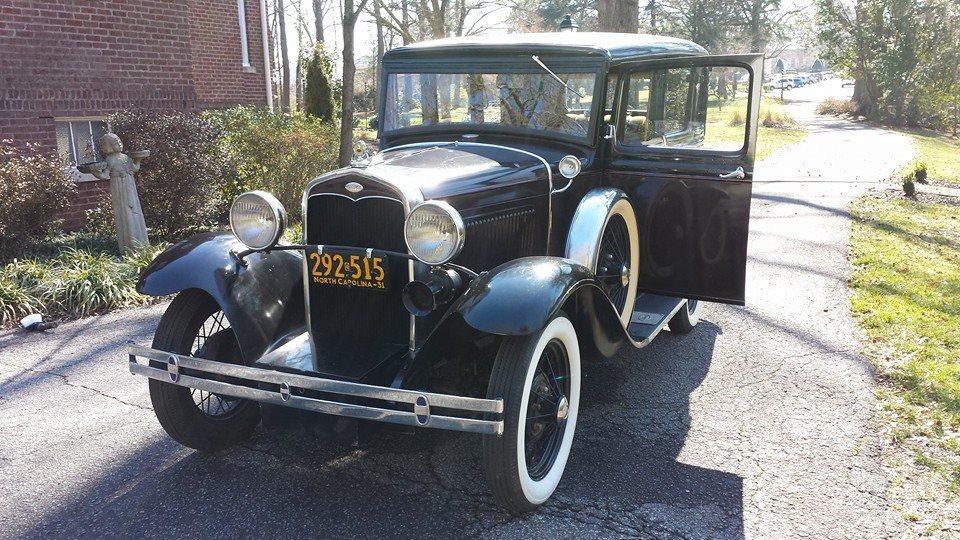 1931 Fordor Town Sedan