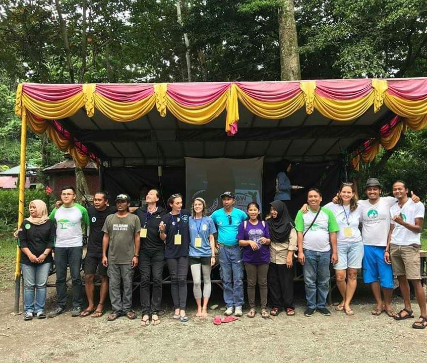 Bukit Lawang festival delegates