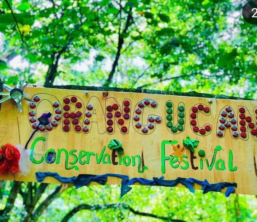 Festival sign