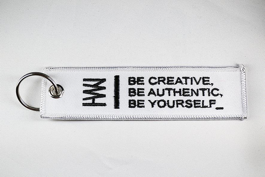 Keychain Strap (White)
