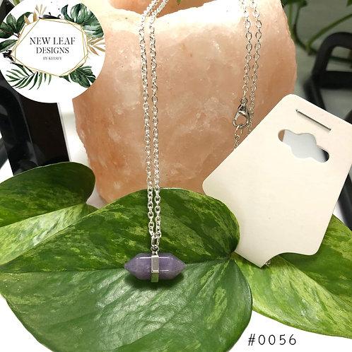 Purple Stone Pendant