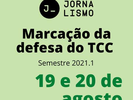 Marcação de defesas de TCC acontece nos dias 19 e 20 de agosto