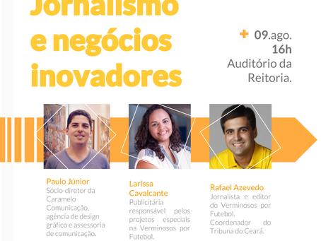 Negócios Inovadores em Jornalismo será temática da aula de abertura do semestre