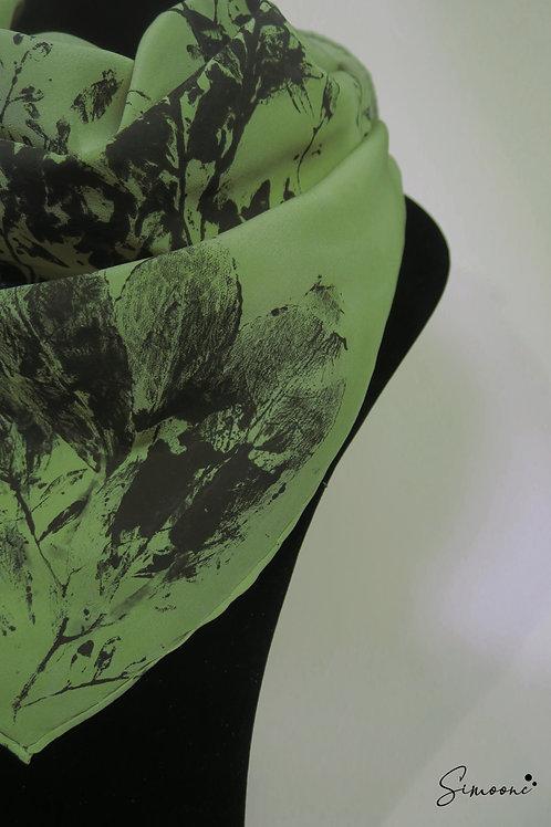 Deluxe sjaal groen