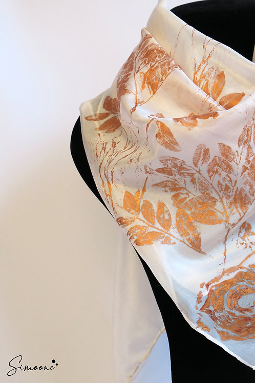 Zachte sjaal wit