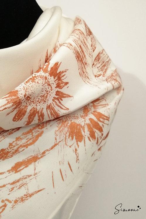 Deluxe sjaal wit