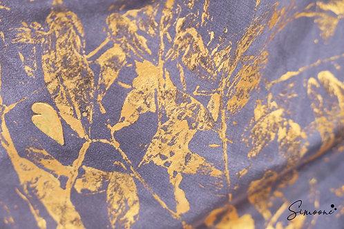 Deluxe sjaal donkergrijs