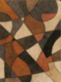 da costa painting geometric