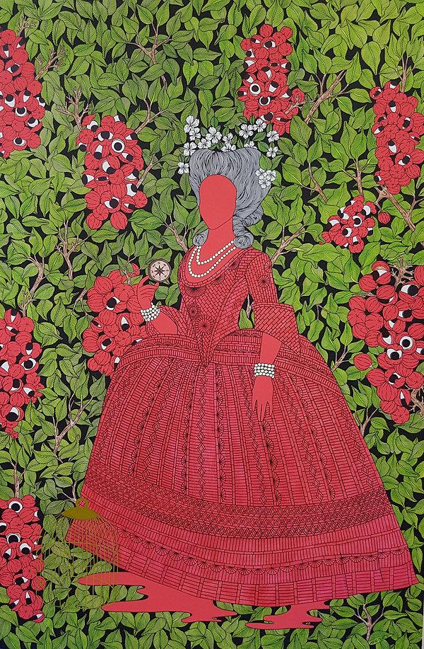 carlota joaquina painting red guaraná