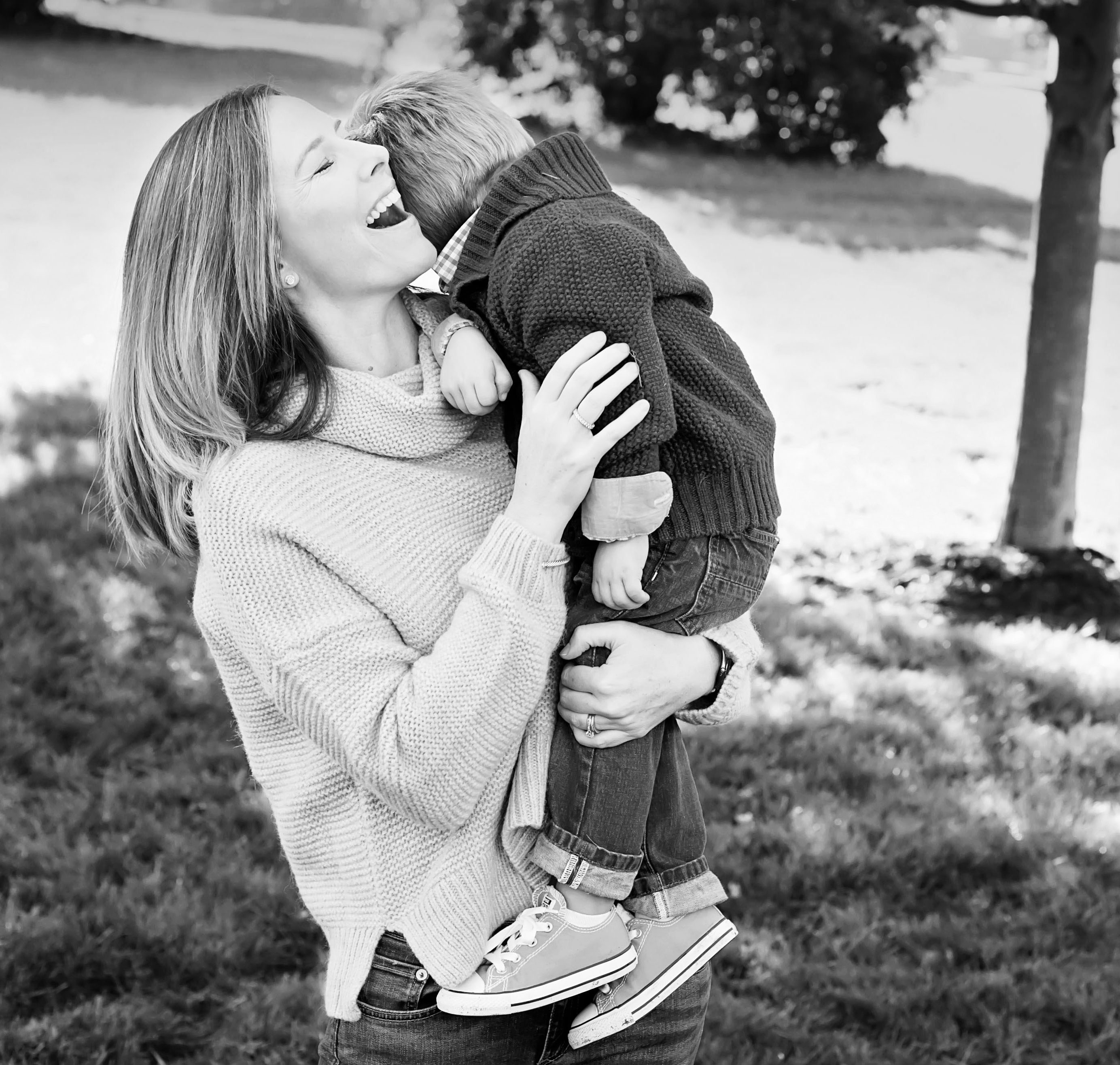 mom + son