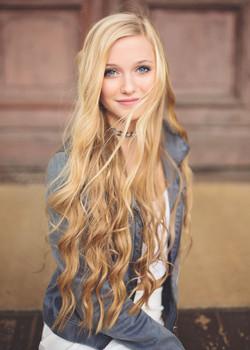 Mermaid hair, senior