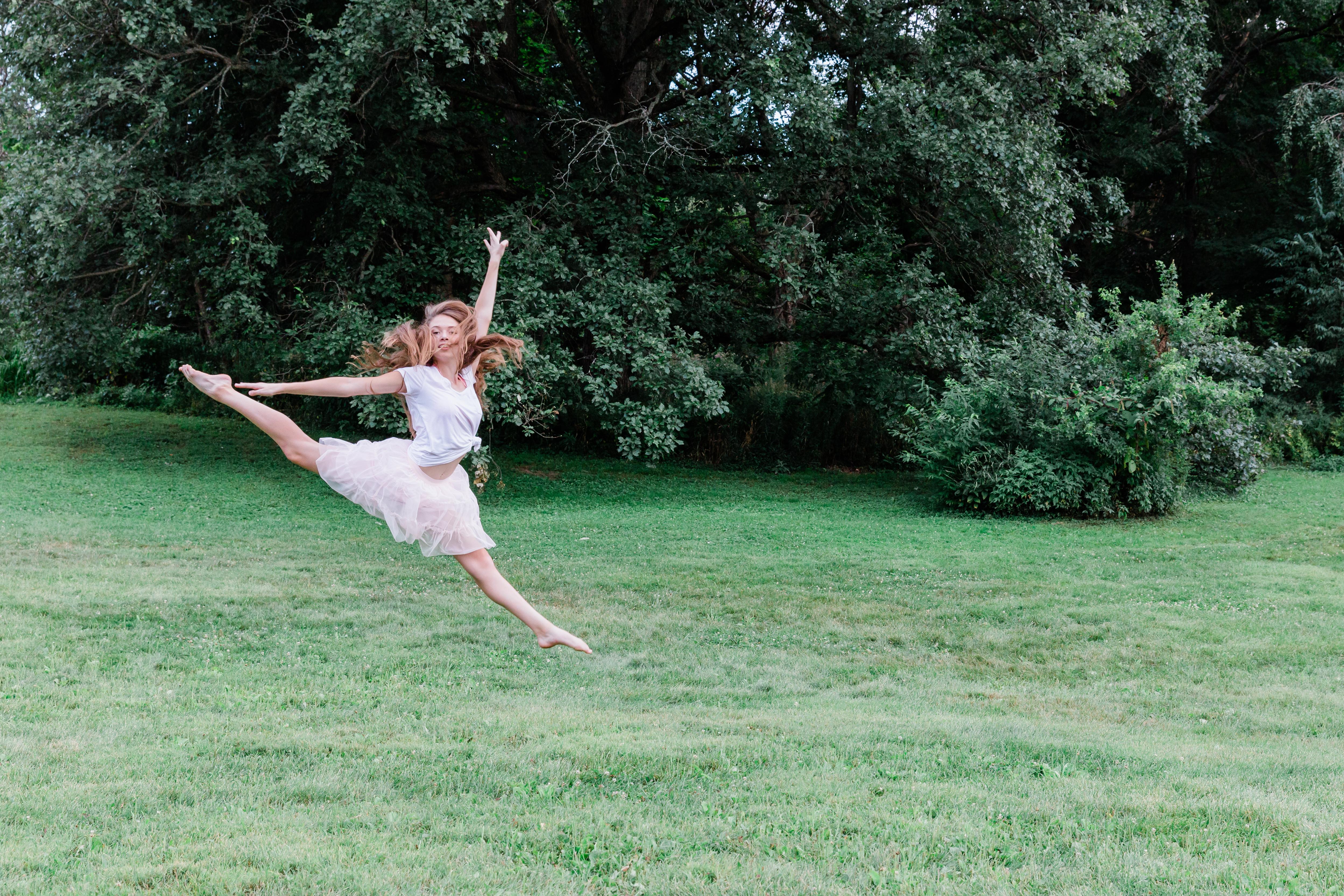 Senior, jump