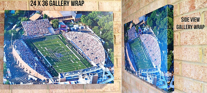 Gallery Wraps ODU Football Game