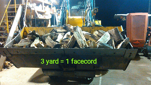 firewood special 3 face cord delivered ( local )