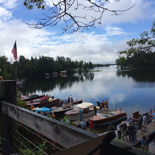 It's turning out to be a great day at the 28th annual Wood Boat Rendezvous #MoonliteBay #BayLife #bo