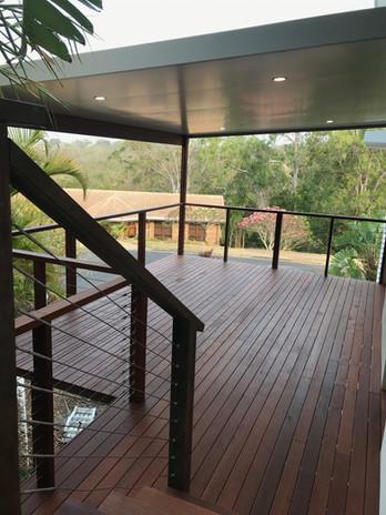 Merbau deck + Solor Span Roof Lismore