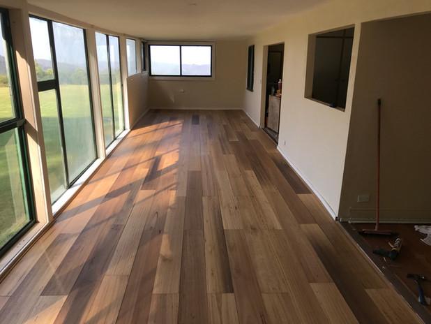 Timber floor Mt Tamborine
