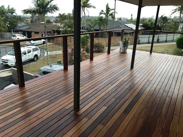 Mixed Hardwood deck Benowa