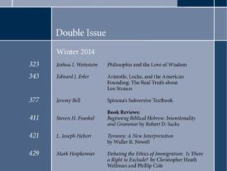 L. Joseph Herbert Reviews Tyranny: A New Interpretation