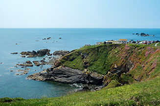 Lizard Point in Cornwall - the most sout