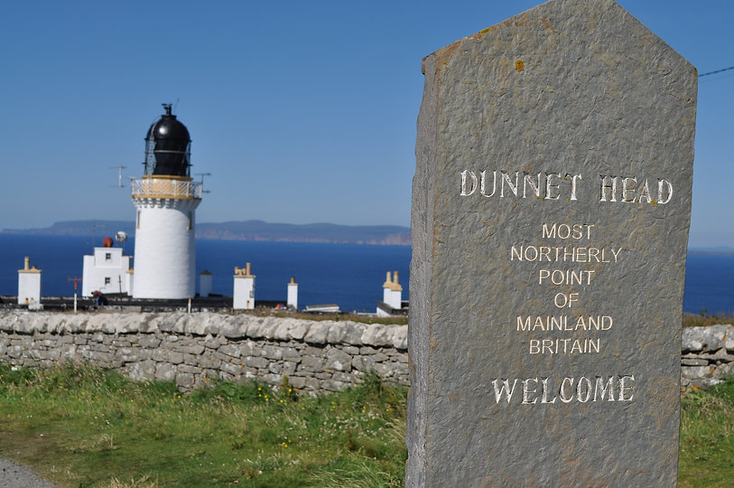 Dunnet Head Scotland, most northerly poi