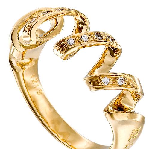 """""""Tourbillon de la Vie"""" ring"""