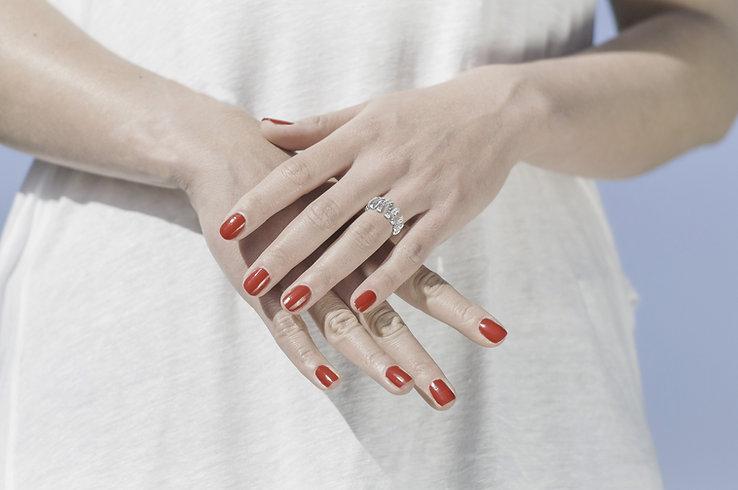 Créateur de bijoux diamant Cannes (06). Joaillerie Wil Le Cher collection en or 18 carats et diamants. Bagues et alliances diamant, créations de bijoux en diamant