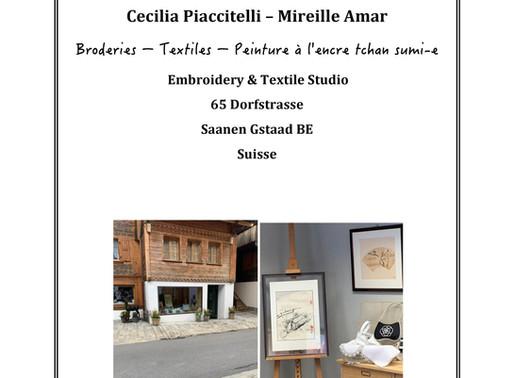 Exposition permanente Cecilia Piacitelli Roger - Mireille Amar