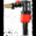 TOILET CISTERN SPARES SIAMP STORM 33A 34335007 SINGLE PUSH BUTTON CHROME