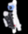 "OPELLA DELCHEM CISTERN 1/2"" BOTTOM ENTRY CRANKED STEM ADJUSTABLE ARM FILLING VALVE"