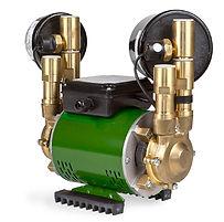 Supergen N60TX twin impeller negative head booster pump 1.8 bar