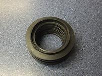SOFT BLACK PVC PLASTIC INTERNAL FLUSH CONE