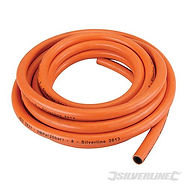 5MTR PLAIN ENDED 8MM ID  PROPANE / BUTANE GAS HOSE FOR BARBEQUE BBQ PATIO HEATERS