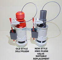 "WIRQUIN PRO JOLLYFLUSH CABLE FLUSH VALVE 1""½ AND 2"""