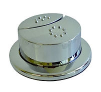 IMPULSE /MANDARIN IMPERIAL CARE ROUND RAPIDE DUAL FLUSH VALVE BUTTON CHROME PLATED