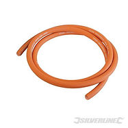 2MTR PLAIN ENDED 8MM ID PROPANE / BUTANE GAS HOSE FOR BARBEQUE BBQ PATIO HEATERS