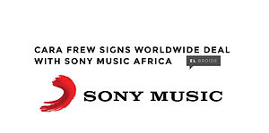 Cara Frew: South African born singer songwriter who's music can be described as POP vocals over African inspired beats and Rhythms signs to Sony Music Entertainment.
