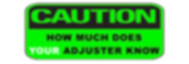 adjuster caution