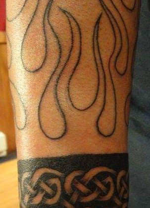 celtic wristband
