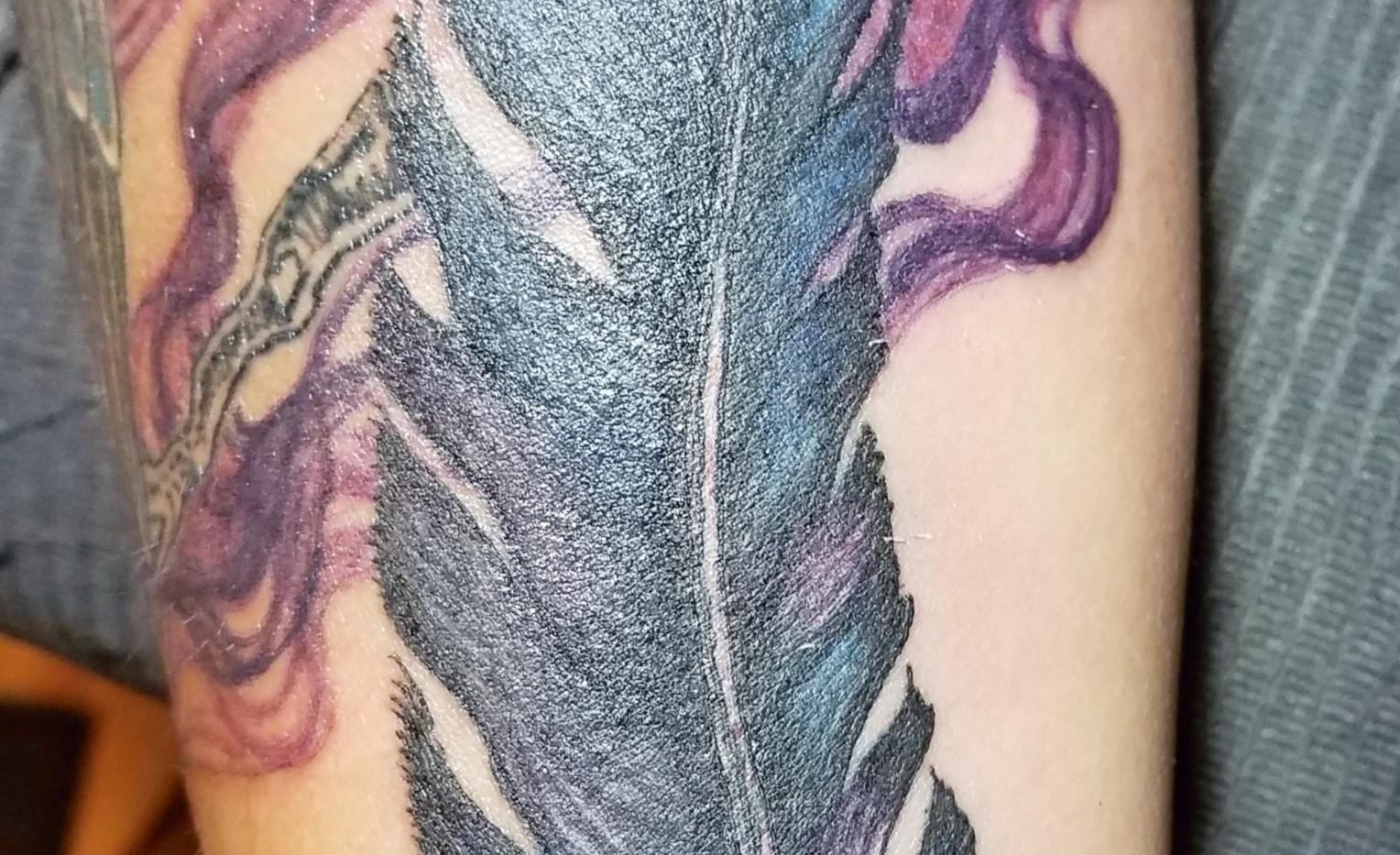 smoke feather