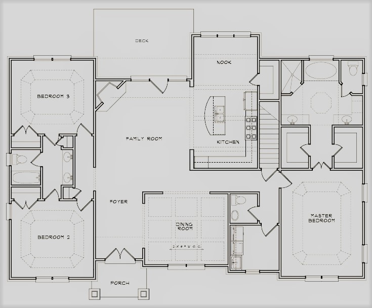 The Courtyard Floor Plan 2nd