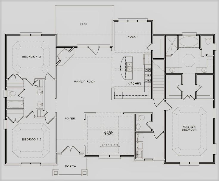 The Courtyard Floor Plan 2nd