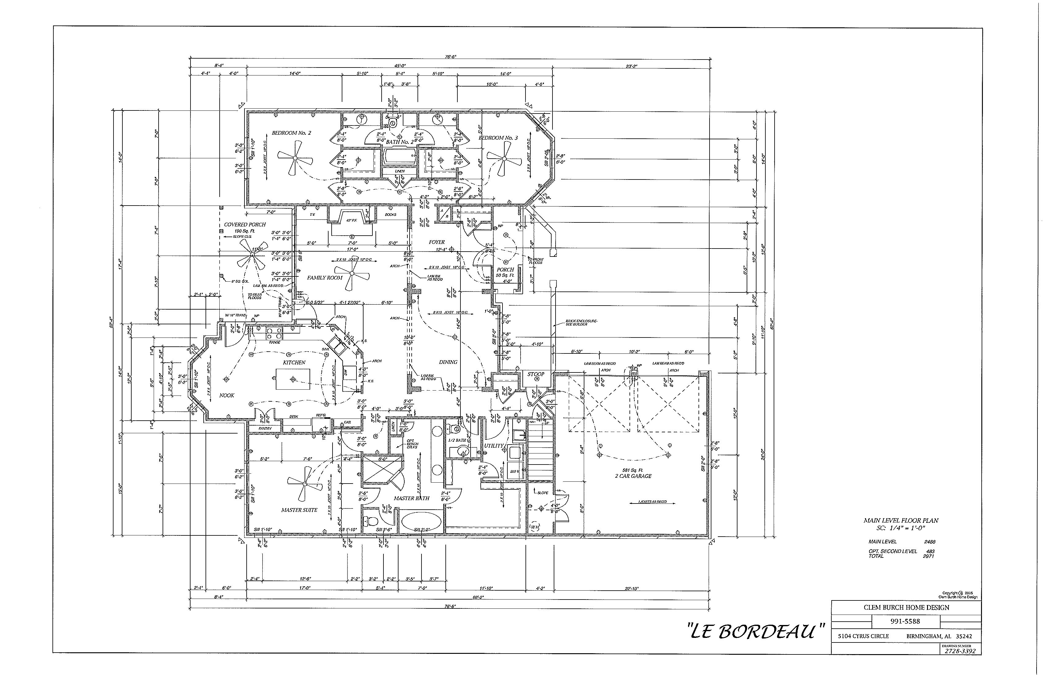 Le_Bordeau Floor Plan 1