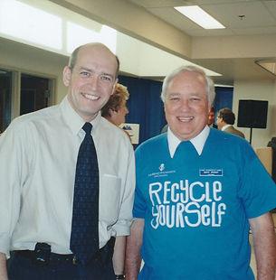 Doug, Kidney Transplant Advocate with Dr